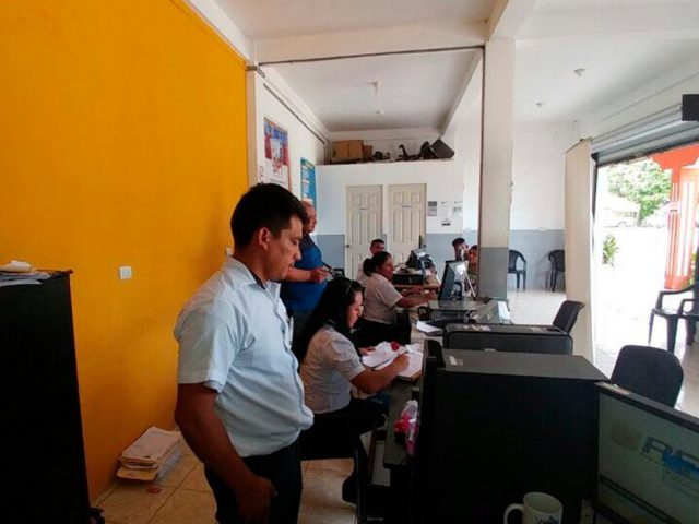 Oficinas de Renap Rio Dulce