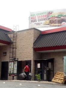 Burger King, Flores, Petén