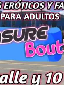 Pleasure Boutique, Puerto Barrios Izabal